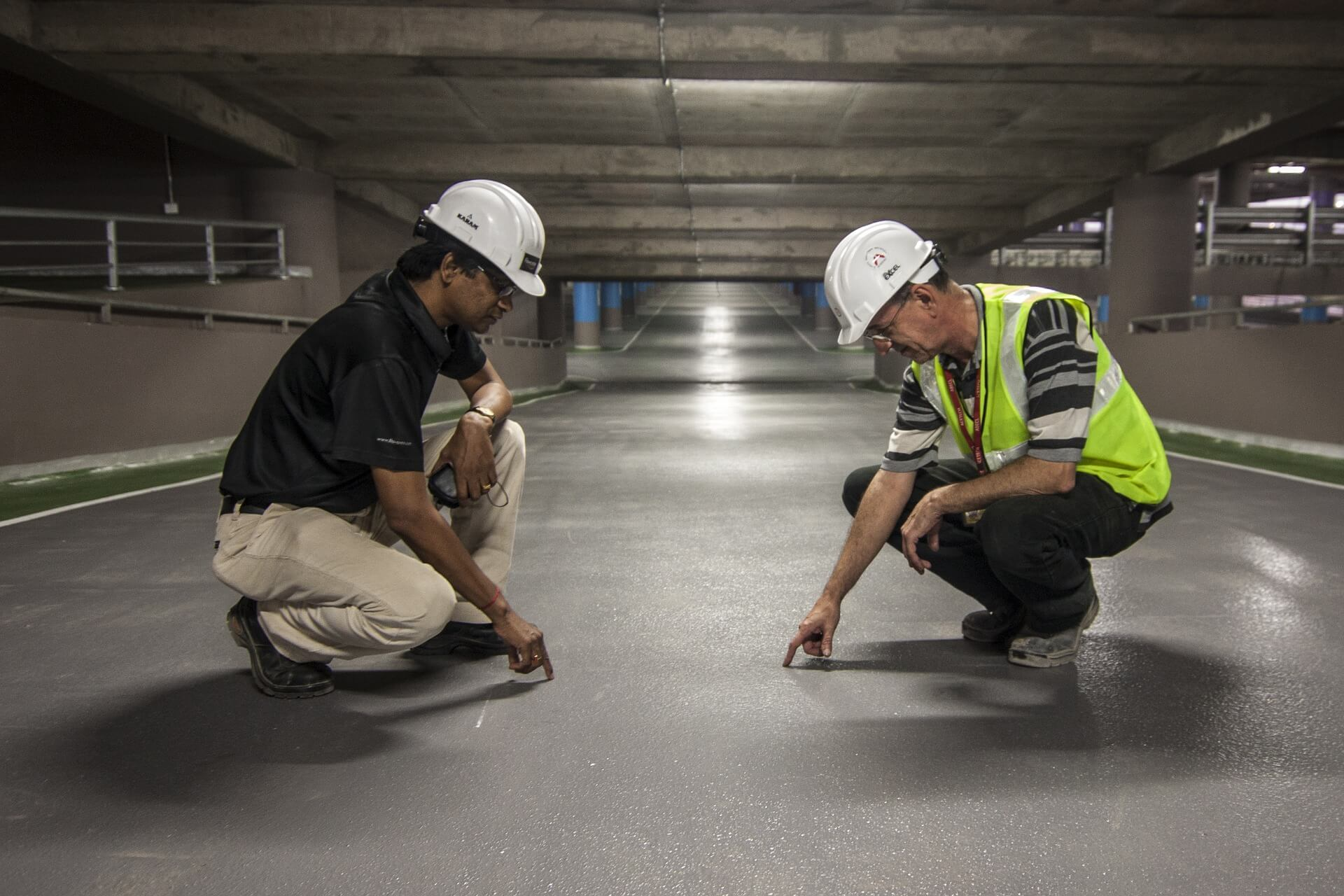 Caring for construction more experience